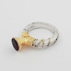 Sidabrinis žiedas 9.38g