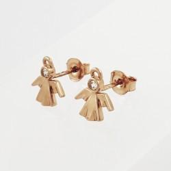 Auksiniai auskarai su...