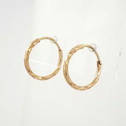 Auksiniai auskarai 0.88g