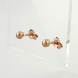 Auksiniai auskarai 0.75g
