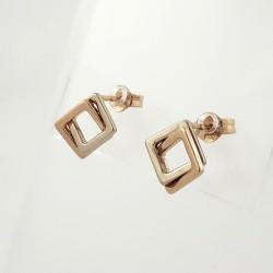 Auksiniai auskarai 0.74g