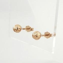 Auksiniai auskarai 1.0g