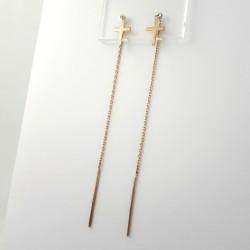 Auksiniai auskarai 0.78g