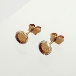 Auksiniai auskarai 0.98 g