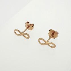 Auksiniai auskarai 0.74 g