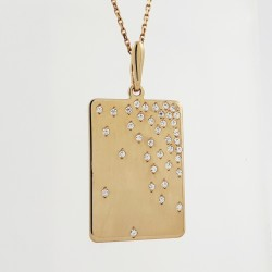 Auksinis pakabukas su...